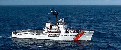 Coast Guard 215 foot Medium Endurance Cutter image courtesy of the U.S. Coast Guard