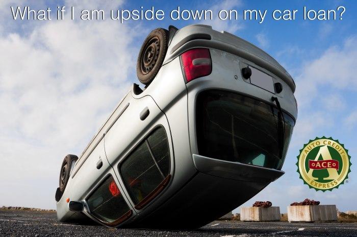 I Am Upside Down On My Car Loan