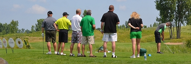 Golfers with a cause